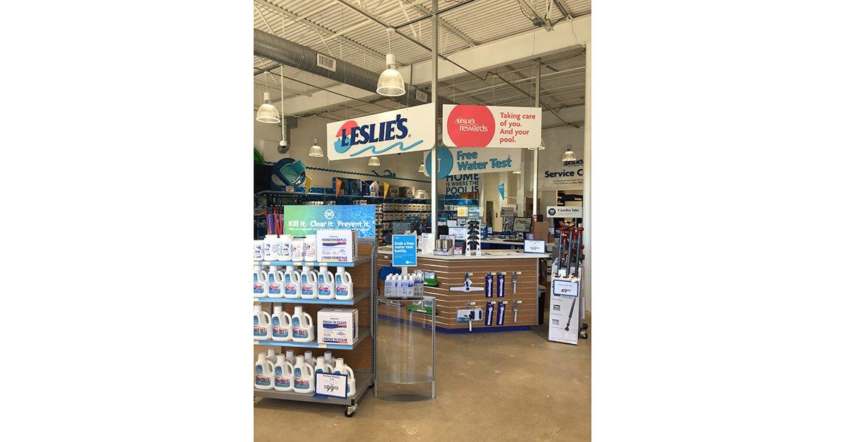 Leslies Pool Supplies • ArcVision Inc